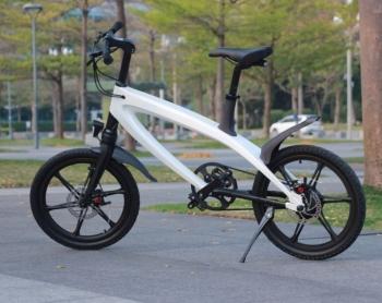 S1 BMX e-Bike at park