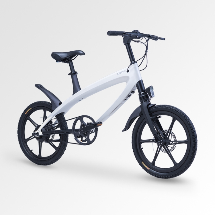 S1 BMX e-Bike white with mag wheels