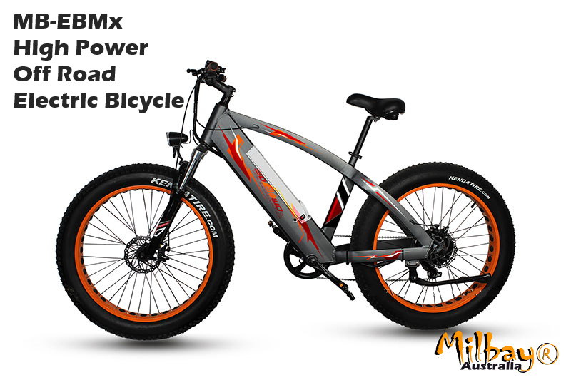 Electric Bicycle & Pedal Scooter 2016 Milbay MB-EBMx