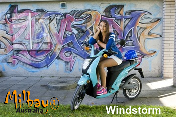 Electric Bicycle & Pedal Scooter 2016 Milbay MB-WS250 Windstorm