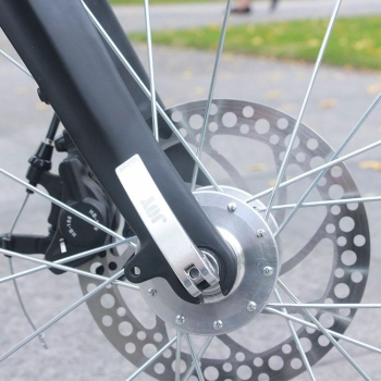 S1 BMX e-Bike quick release front wheel