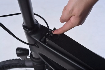 S1 BMX e-Bike quick release battery