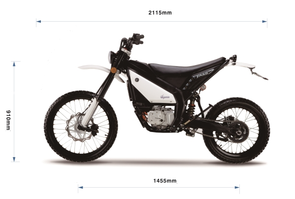 Tailg RDS electric motorcycle dimensions