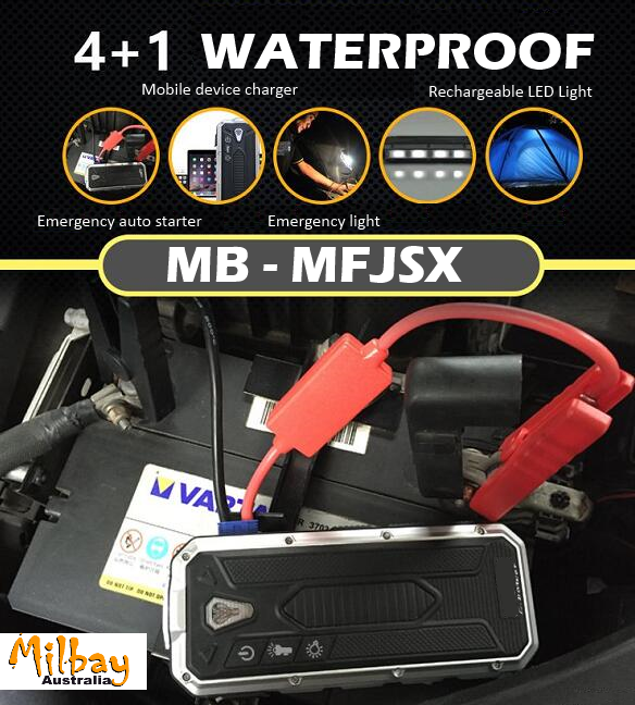 Auto Jump Starter and Power Banks 2016 Milbay MB-MFJSX