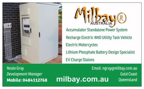 Neale Gray Mobile: 0484112768 email: ngray@milbay.com.au