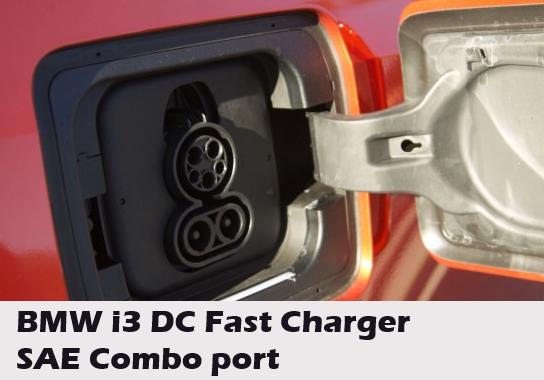 EV DC Charge port