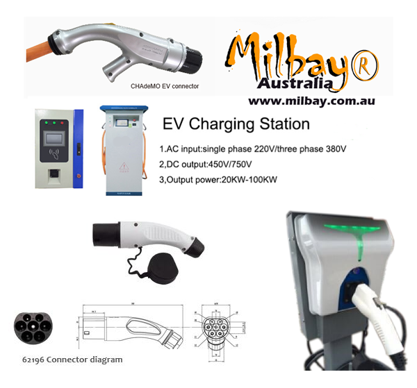 Electric vehicle DC fast charger