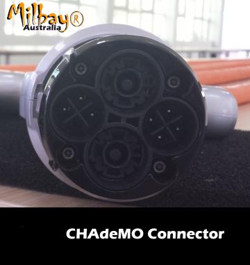EV Chademo DC Charge port