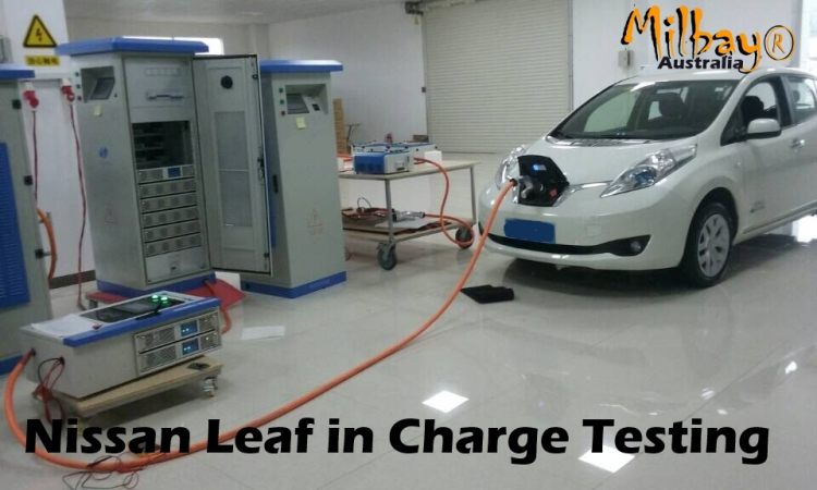 Milbay DC fast charger 50kW installation
