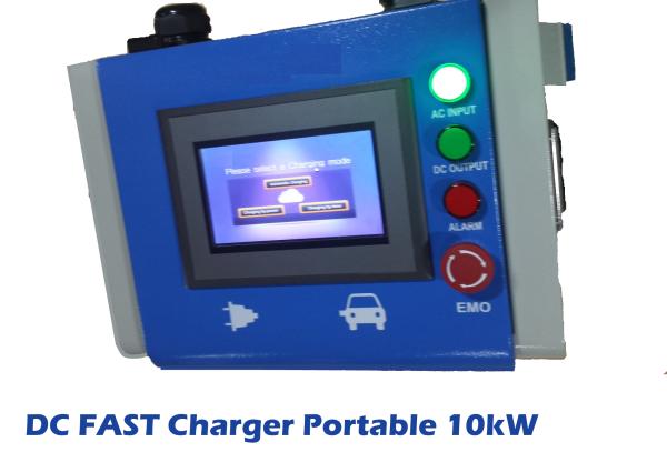 Milbay 10kW portable EV DC fast charger Australia