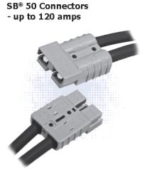 SB50 power connector