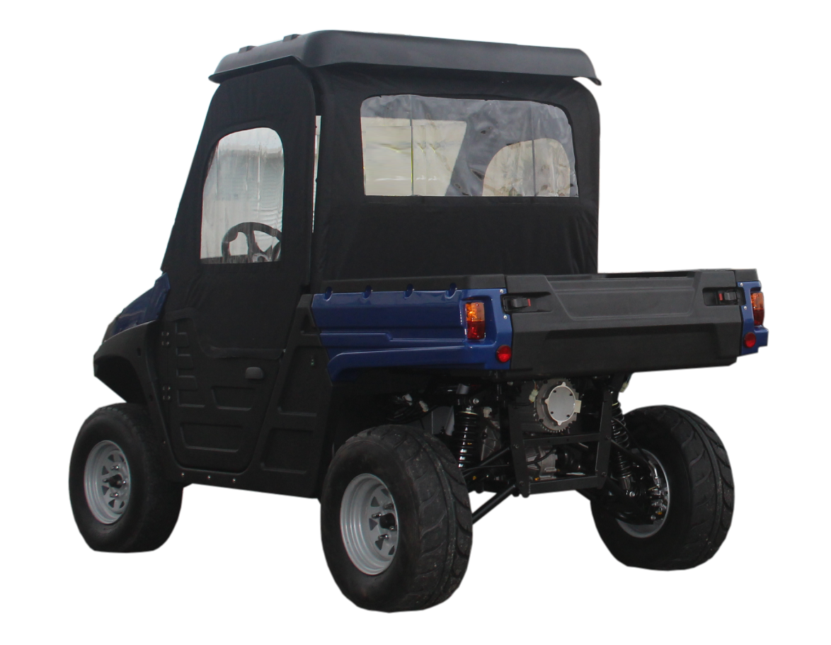 Electric UTV Milbay Australia with canopy