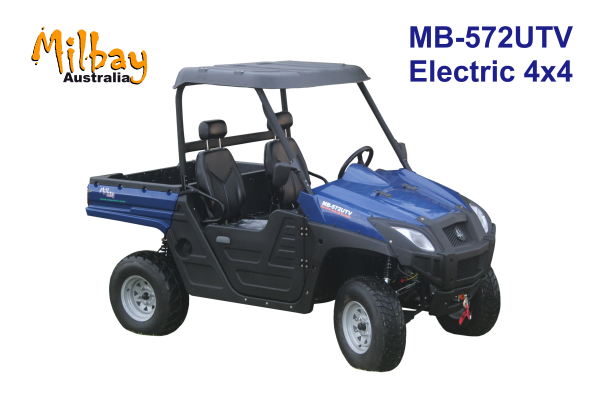 Milbay Electric all terrain vehicle MB572UTV Blue